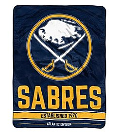 Northwest Company NHL® Buffalo Sabres Breakaway Micro Raschel Throw