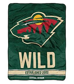 Northwest Company NHL® Minnesota Wild Breakaway Micro Raschel Throw