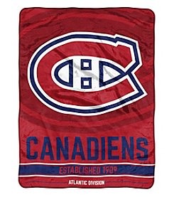 Northwest Company NHL® Montreal Canadiens Breakaway Micro Raschel Throw