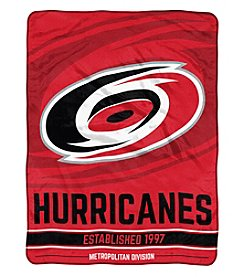 Northwest Company NHL® Carolina Hurricanes Breakaway Micro Raschel Throw