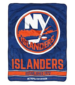 Northwest Company NHL® New York Islanders Breakaway Micro Raschel Throw