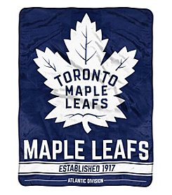 Northwest Company NHL® Toronto Maple Leafs Breakaway Micro Raschel Throw