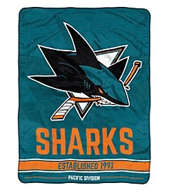 Northwest Company NHL® San Jose Sharks Breakaway Micro Raschel Throw