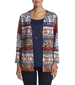 Alfred Dunner® Biadere Two For One Sweater