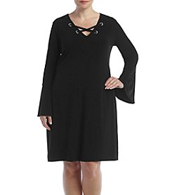 MICHAEL Michael Kors® Plus Size Grommet Lace-Up Dress
