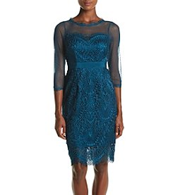 Adrianna Papell® Venice Lace Sheath Dress