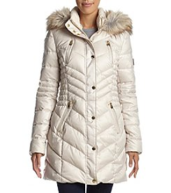 Laundry® Ruched Waist Down Jacket