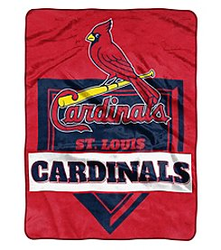 Northwest Company MLB® St. Louis Cardinals Home Plate Raschel Throw