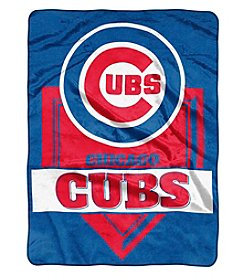 Northwest Company MLB® Chicago Cubs Home Plate Raschel Throw