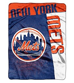 Northwest Company MLB® New York Mets Home Plate Raschel Throw