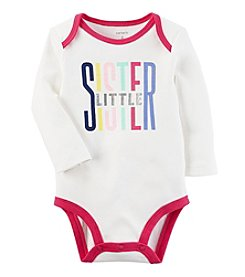 Carter's Baby Girls' Little Sister Collectible Bodysuit