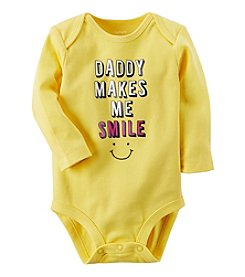 Carter's Baby Girls' Daddy Makes Me Smile Collectible Bodysuit