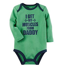 Carter's Baby Boys' Muscles From Daddy Collectible Bodysuit