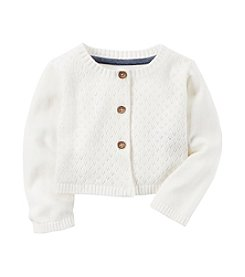 Carter's® Baby Girls' Pointelle Cardigan