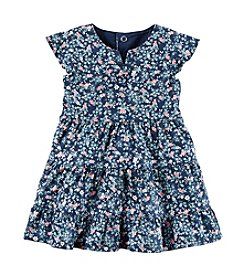 Carter's Baby Girls' Floral Twill Dress