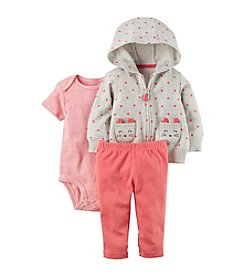 Carter's Baby Girls' 3 Piece Little Jacket Set