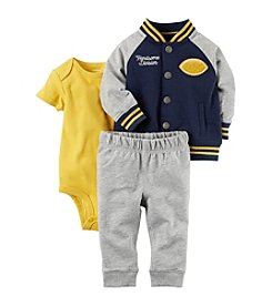 Carter's Baby Boys' 3 Piece Handsome Divsion Little Varsity Jacket Set