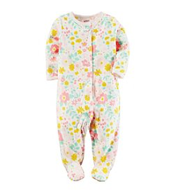 Carter's® Baby Girls' Floral Print Footies