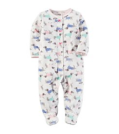 Carter's® Baby Girls' Dog Print Footies
