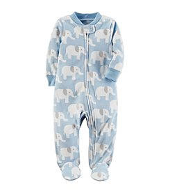 Carter's Baby Boys' Elephant Print Sleep & Play