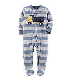 Carter's Baby Boys' Striped Truck Sleep & Play