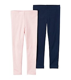 Carter's® Baby Girls' 3-8 Months 2 Pack Leggings