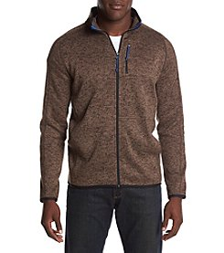 Ruff Hewn Mockneck Long Sleeve Sweater Fleece