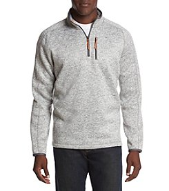 Ruff Hewn 1/4 Zip Mockneck Sweater Fleece