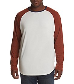 John Bartlett Consensus Men's Big & Tall Long Sleeve Siro Raglan Tee