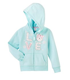 Mix & Match Girls' 2T-4T Fleece Hoodie