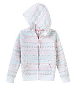 Mix & Match Girls' 2T-7 Fleece Hoodie
