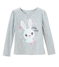Mix & Match Girls' 2T-7 Long Sleeve Puff Sleeve Tee