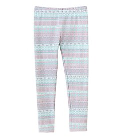 Mix & Match Girls' 2T-7 Printed Leggings