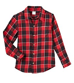 Mix & Match® Boys 2T-8 Long Sleeve Flannel Shirt