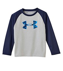 Under Armour® Boys 4-7 Long Sleeve Logo Digital City Tee