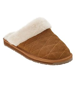 Clarks Quilted Slippers