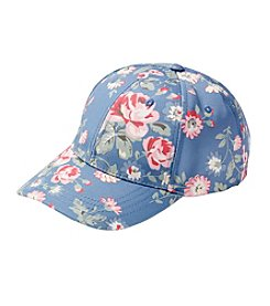 Collection 18 Blue Floral Baseball Hat
