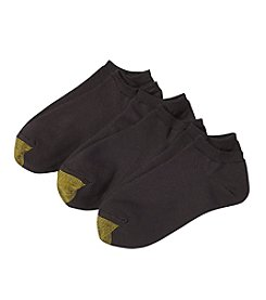 GOLD TOE® 3-Pack No Show Socks