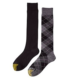 GOLD TOE® 2-Pack Winter Plaid Socks