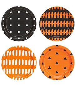 Set of 32 Halloween Assorted Appetizer Plates