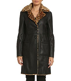 Belle Badgley Mischka® Reversible Coat