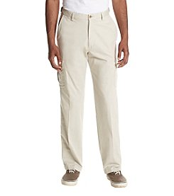 Haggar Classic Fit Flat Front Stretch Cargo Pant