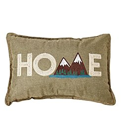 Ruff Hewn Home Mountain Decorative Pillow