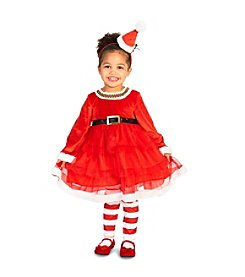 Chirstmas Diva Toddler Costume