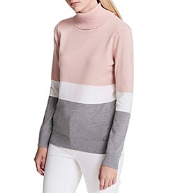 Calvin Klein Block Turtleneck Sweater