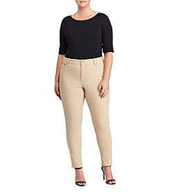 Lauren Ralph Lauren® Plus Size Denim Ankle Pants