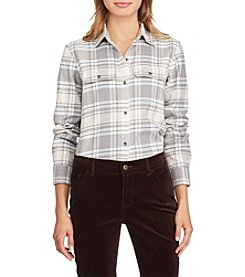 Chaps® Flannel Top