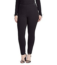 Chaps® Plus Size Stretch Ponte Skinny Pants