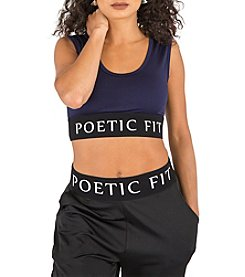 Poetic Justice® Ryan Fashion Bra Top