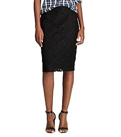 Chaps® Lace Pencil Skirt